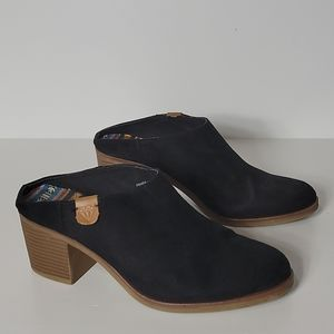 Rock & Candy France Mules, Black